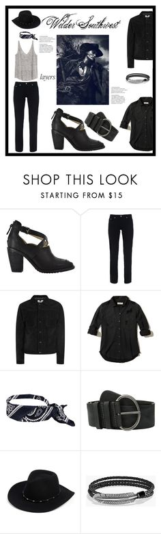 """Wilder Southwest:  Monsoon Canyon"" by wildersouthwest ❤ liked on Polyvore featuring Fabrizio Gianni, Topman, Hollister Co., Amsterdam Heritage, Frye and David Yurman"