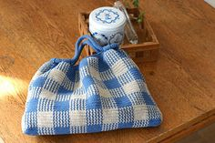 ギンガムチェックのギャザーバッグの作り方|編み物|編み物・手芸・ソーイング|作品カテゴリ|アトリエ
