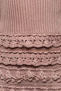Vestido Crochet Couture Asfalto | Vanessa Montoro -