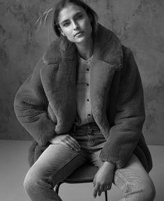 M&S Collection coat, £79, classics top, £22.50.