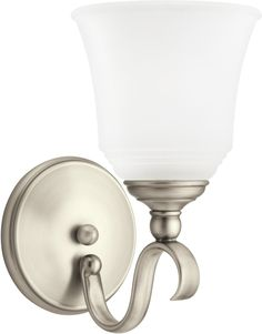 0-019008>Parkview 1-Light Energy Star Wall Sconce Antique Brushed Nickel