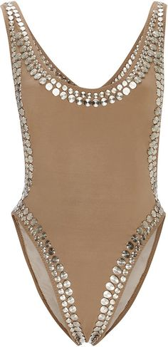 Norma Kamali Stud Marissa Maillot   #Chic Only #Glamour Always