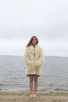 warm sweater coat by EmilyNoraONeil on Etsy, $595.00