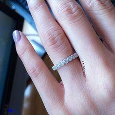 0.75ct eternity diamond band by Id Jewelry, Diamond District. NYC