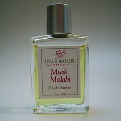 Inspired by the Middle Eastern dessert of the same name, Musk Malabi brings together musk, rose, and orange blossom in an unexpectedly harmonious triad. Sweet yet sophisticated, Musk Malabi is sexy and delicious, without the calories of the dessert. Spoil yourself with this exotic, fragrant treat. Musk Malabi is not entirely selfish: 10% of all sales of this perfume go to bring vital support to the Syrian refugees.  http://ayalamoriel.com/index.cfm?PageName=Scents&View=Details&PerfumeID=109