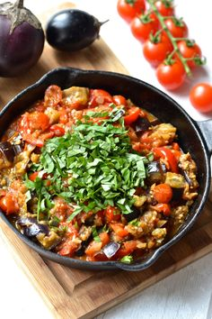 This eggplant caponata is fast and easy to make and is bursting with flavours. Incredibly versatile it's great as a side dish, sauce, dip or appetiser. Clean Eating Recipes, Healthy Eating, Paleo Vegetables, Veggies, Eggplant Appetizer, Eggplant Caponata, Vegetarian Recipes, Healthy Recipes, Healthy Dinners