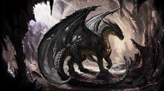 Fantasy Drachen  Wallpaper