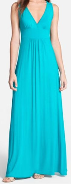 v-neck stretch maxi dress  http://rstyle.me/n/igyihpdpe
