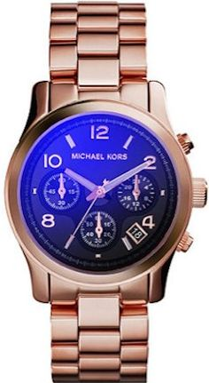 Michael Kors Runway Rose Gold Watch Amazing rose gold watch with navy blue face. No scratches on the face. Slight fading on 1 link of the band. Box and extra link not included. Michael Kors Other Michael Kors Rose Gold, Michael Kors Watch, Nordstrom, Rose Gold Watches, Aliexpress, Stainless Steel Bracelet, Rose Gold Plates, Or Rose, Jewelry Watches