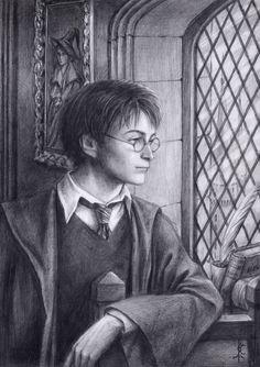 Harry Potter by edarlein.deviantart.com