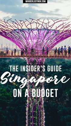 Local tips for visiting Singapore on a budget written by locals with advice on the best things to do in Singapore on a budget & famous food in Singapo. , Insider's Guide to Singapore On a Budget, Singapore Travel Tips, Visit Singapore, Singapore Trip, Sentosa Island Singapore, Singapore Itinerary, Singapore Garden, Singapore Malaysia, Cool Places To Visit, Places To Travel