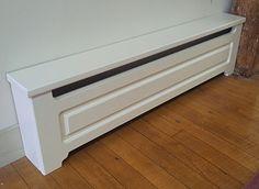 Wood Baseboard Heater Cover