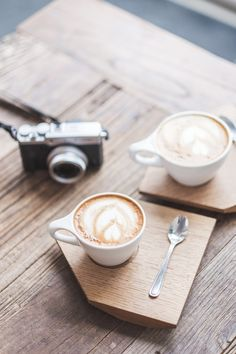 Savor coffee for two. [ad]