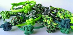Shamrock Paracord Bracelets  St Patricks Day is almost here!!!  https://www.etsy.com/listing/180044120/st-patricks-day-shamrock-adjustable