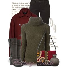 A fashion look from January 2015 featuring Ralph Lauren Black Label sweaters, A.P.C. jackets and Lee. Browse and shop related looks.
