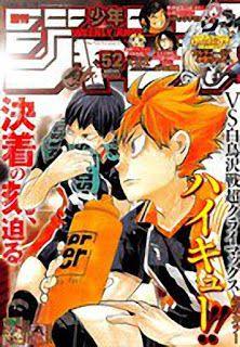 Ranking semanal de la revista Weekly Shonen Jump edición 52 del 2015.