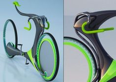 Flying Bike Concept by Industrial Designers Hoyoung Lee, Park e Youngwoo Jungmin Park