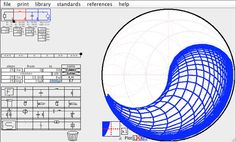 smith chart download..easily and graphically design matching networks