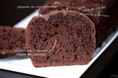 Bizcocho de chocolate, la receta perfecta – Tarthélémy Cake Chocolat, Spanish Food, Spanish Recipes, Mini Cakes, Chocolate Desserts, Parfait, Banana Bread, Brunch, Vegan