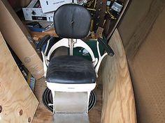1940's Ritter Dental Chair Electric & Hydralic  Barber Chair Tattoo Chair