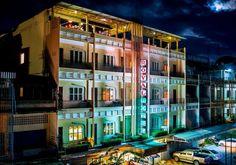 Exterior @ Royal Hotel : Battambang, Cambodia