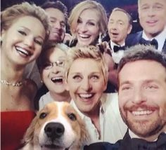 "Dallas Pets Alive is ""Muttbombing"" their shelter dogs into selfies of celebrities. It's hilarious... and it's getting them adopted! http://www.petmd.com/news/lifestyle-entertainment/muttbombing-rescue-photoshops-adoptable-dogs-celeb-selfies-31460?utm_source=freekibble&utm_medium=freekibble&dbb=0"