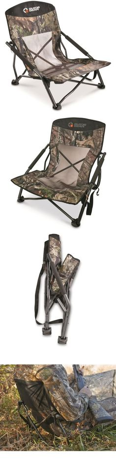 Seats and Chairs 52507: Hunting Blind Gear Camo Deluxe Turkey Gobbler Collapsible Game Chair 300 Lb Hunt -> BUY IT NOW ONLY: $47.24 on eBay!