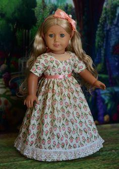 "Image result for regency dress pattern for 18"" doll"