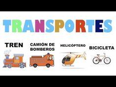 Los medios de transporte en español - YouTube
