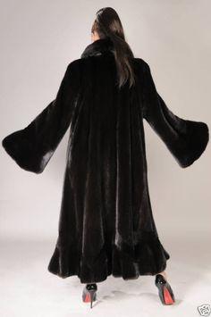 Brand new original BLACK mink fur coat NWT. #Handmade #BasicJacket