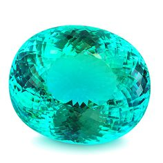 This magnificent Paraiba tourmaline from Mozambique measures 27,34 x 22,88 x…