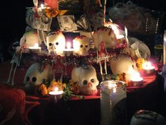 This is What I believe: Dia de los Muertos is a Mexican holiday that is in honor of the deceased. On the day that most Americans avoid any nearby graveyards, people of Mexico go to the graves of their loved ones & decorate them. It is believed that between Oct. 31& Nov. 2, the spirit of the dead visit their families. November 1st is the celebration of deceased children, while the 2nd is for adults. Families build shrines with pathways of candles & flowers to guide the spirit & attend…