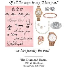 """""""I love you"""" by the-diamond-room on Polyvore"""