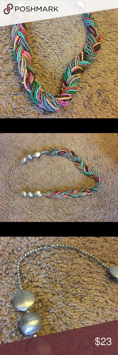 Fun colorful necklace! Got it from a local boutique. Matches so much, super cute and fun! Only worn once! Jewelry Necklaces