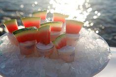 Summery Drinks, Refreshing shots for Mykonos Events & Parties #seasatinmarketrestaurant #seasatinmykonos #capriceofmykonos #shots #drinks #summerdrinks #mykonosevents #eventplanning #mykonosparties #mykonosrestaurant Shots Drinks, Drinks Tray, Summer Drinks, Cocktail Drinks, Cocktails, Watermelon Shots, Mykonos Restaurant, Rice Bar, Mykonos Greece