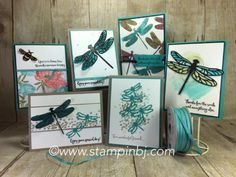 Dragonfly Dreams, Detailed Dragonfly thinlits, #stampinup, #stampingclassesinthemail, #stampingtechniques