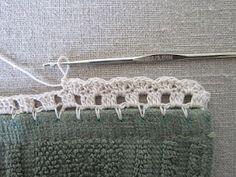 "Crochet Lace Miss Abigail's Hope Chest: ""Garden Series"" Crochet Edgings: Crochet Boarders, Crochet Blanket Edging, Crochet Edging Patterns, Crochet Lace Edging, Thread Crochet, Crochet Trim, Love Crochet, Diy Crochet, Crochet Designs"