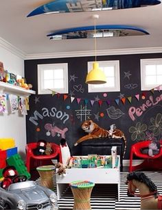 Play room / chalkboard paint