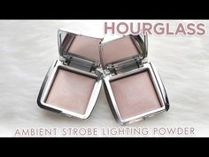 Hourglass Ambient Strobe Lighting Powders (Incandescent, Iridescent) — Full review, swatches and dupes!