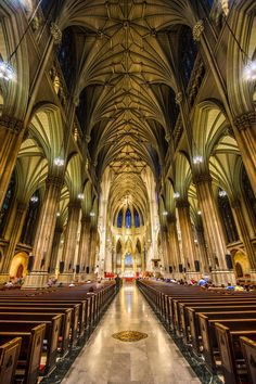 St. Patrick's Catherdral by Dylan Patrick, via 500px. One of the most peaceful places I have ever been.