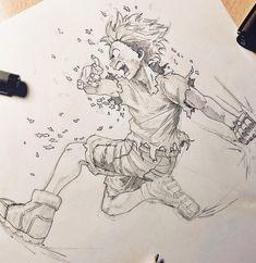 ✍️ He's not Sora but. Izuku Midoriya from My Hero Academia. 😊💥 ⚡️Work in Progress 🔥✏️ Hope you guys like it! Anime Drawings Sketches, Anime Sketch, Manga Drawing, Manga Art, Cute Drawings, Manga Anime, Anime Art, Hero Academia Characters, My Hero Academia Manga