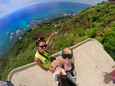 Diamond head hike Oahu with my GoPro Hawaii travel. Definitely worth the hike to the pill boxes.