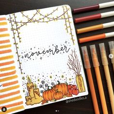 Are you looking for the best bullet journal ideas for November? You're in the right place. Here are the best ideas for November.