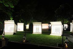 event, garden, boxes