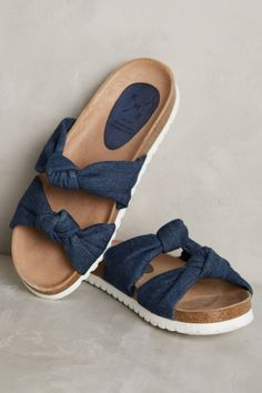 2041a03c66ae 30 Summer Sandals From Flats to High Heels Denim Slides
