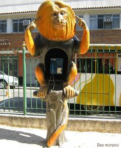 Interesting Brazilian Phone Booth