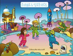 Nouvelle boite à projets pour les 4 à 6 ans: dans l'espace !!! 6 Year Old, Outer Space, Baby Born, Children, Projects