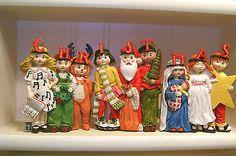 You gotta love a Christmas Pageant! - Mary-Engelbreit-Christmas-Figurine-Screen-The-Christmas-Pageant-Kurt-Adler