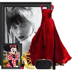 """Minnie Mouse"" by srta-sr on Polyvore"