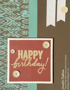 jd designs: Jackson Week -- Day #3 -- Happy Birthday